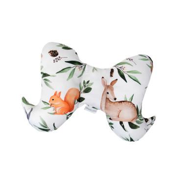 Leśne Zwierzęta – poduszka (motylek) do wózka
