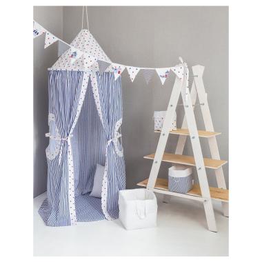 Namiot wiszący , pięknie wygląda w pokoju dziecka , nad łóżkiem jak i w salonie