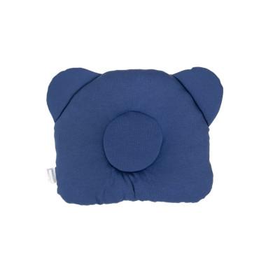 Niebieski – poduszka z wgłębieniem na główkę