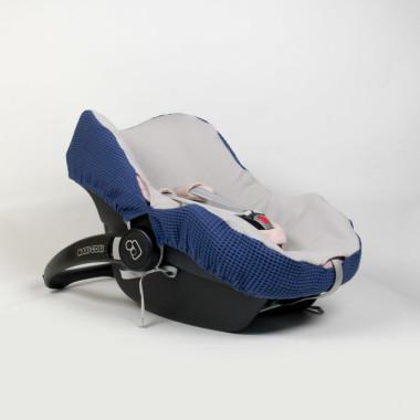 Niebieski – pokrowiec na fotelik Maxi-Cosi