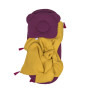 Komplet do Gondoli i Kosza Mojżeszowego (prześcieradło + poduszka + kocyk) Fiolet