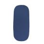 Komplet do Gondoli i Kosza Mojżeszowego (prześcieradło + poduszka + kocyk) Niebieski