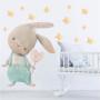 Bezpieczna naklejka do pokoju dziecka- królik z serduszkiem