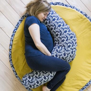 Hanami – wielofunkcyjna poduszka dla kobiet w ciąży i do karmienia