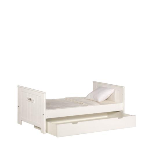 Pinio Marsylia Blanco – łóżeczko tapczanik 140×70 cm