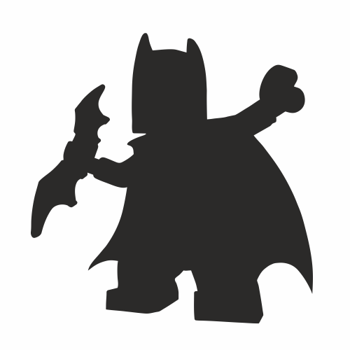 Naklejka Tablicowa Mroczny Rycerz - Naklejki Na Ścianę, Naklejki Ścienne