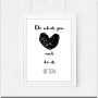 Plakat ''Do what you love and do it often'' A3