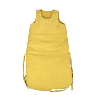 Żółty śpiworek dla niemowlaka/dziecka-bezpieczny śpiworek do spania