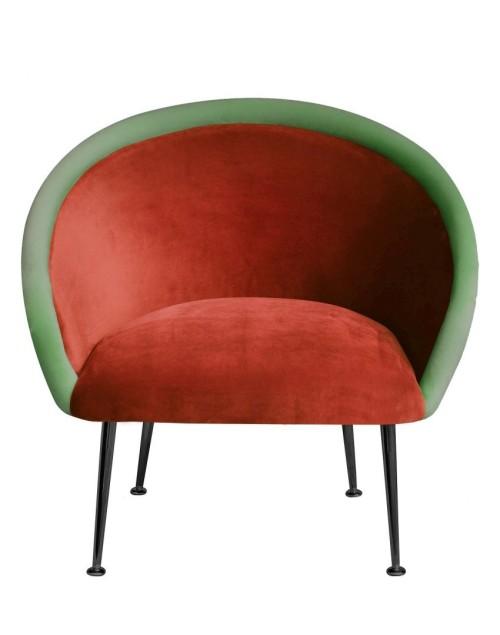 Wielokolorowy/ kolorowy fotel do sypialni, salonu, jadalni- wygony i funkcjonalny- żółty, turkusowy, fioletowy