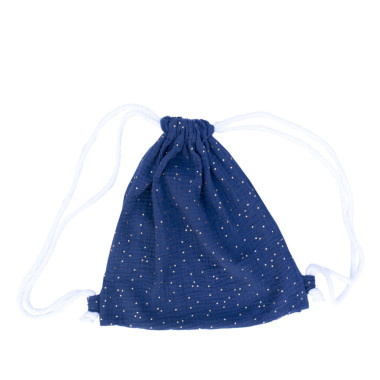 Blink Blue – bawełniany worek/plecak dla przedszkolaka