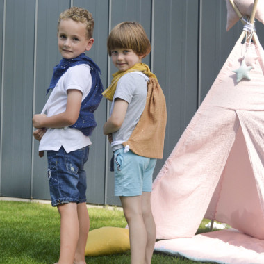Blink Camel – bawełniany worek/plecak dla przedszkolaka