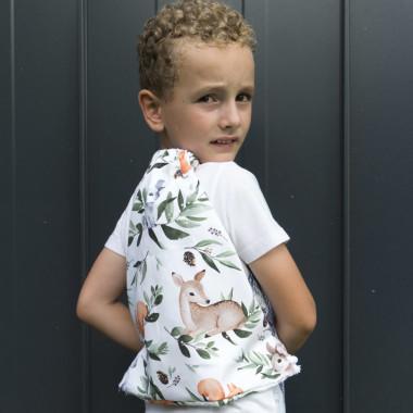 Leśne Zwierzęta – bawełniany worek/plecak dla przedszkolaka