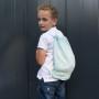 Blink Mint – bawełniany worek/plecak dla przedszkolaka