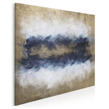 Sztorm - nowoczesny obraz na płótnie - w kwadracie