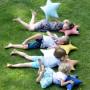 Blink Blue – poduszka w kształcie gwiazdy