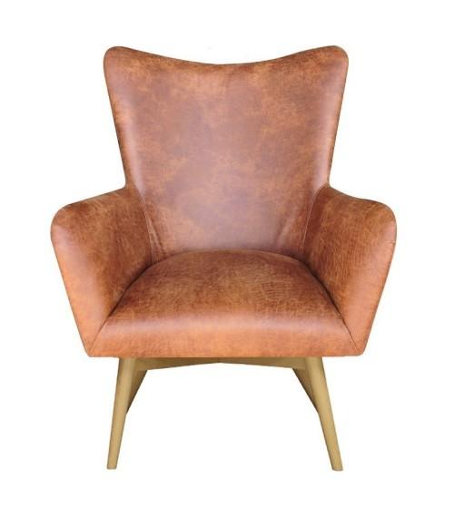 Miękki i bardzo wygodny fotel. Idealny do salonu lub wnętrz komercyjnych: kawiarnie , klub, puby.