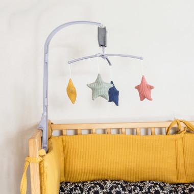 Blink colors – karuzela do łóżeczka z obrotową pozytywką