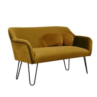 Pluszowa, aksamitna sofka do salonu, sypialni, recepcji, pubu, kawiarni.