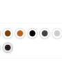Kolor skóry i nóg- fotel