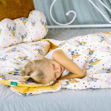 Śpiworek ocieplany juniora 70x140cm łapacze snów