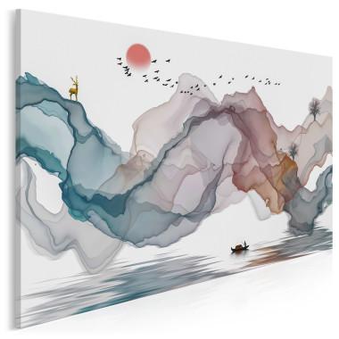 Nowoczesny obraz drukowany na płótnie to ekskluzywna ozdoba ścienna, która z powodzeniem ozdobi ściany Twojego mieszkania. Wydruk na płótnie z motywami kwiatowymi, obraz abstrakcyjny czy modny tryptyk to wybór idealny dla każdego wielbiciela sztuki nowoczesnej i oryginalnych dekoracji