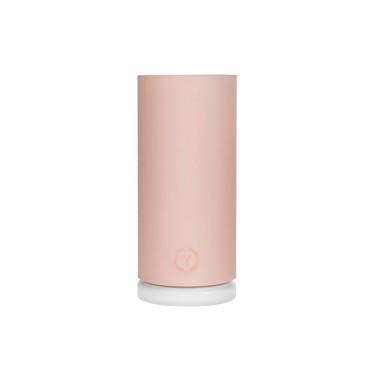Prosta różowa lampka do eleganckiego pokoju dziewczynki