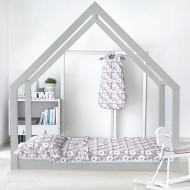 Łóżko domek drewniane Maya Kolor