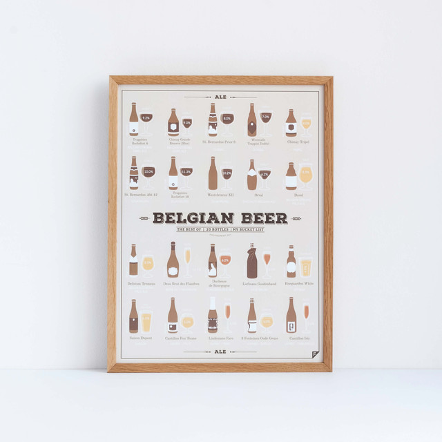 Plakat z piwem do restauracji, baru, kuchni, pijalni piwa.