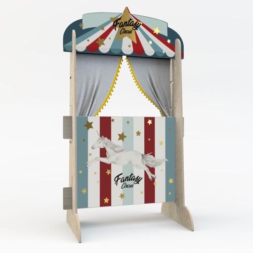 Cyrk i półka na książki w jednym! Fantasy Circus Retro!