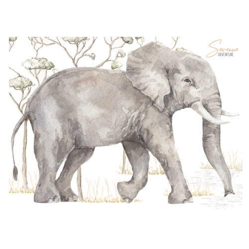 Słoń z kolekcji Savanna Adventure