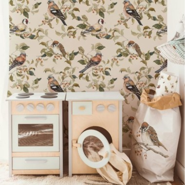 Birds Autumn Tapeta