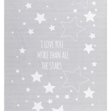 DYWAN LOVE YOU MOON - SZARY