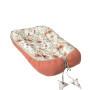 Dwustronny kokon, otulacz, gniazdko dla niemowląt wykonany z wysokiej jakości tkaniny bawełnianej można używać od narodzin do około 6 miesiąca życia.