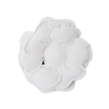 Kwiat dekoracyjny na ścianę/ ozdoba do pokoju dziecka. Biały kwiat