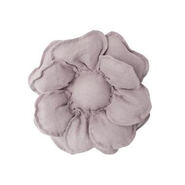 Kwiat dekoracyjny na ścianę/ ozdoba do pokoju dziecka. Szary kwiat