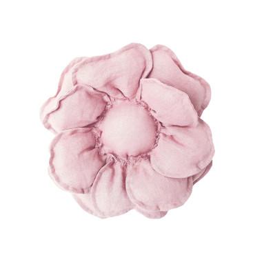 Kwiat dekoracyjny na ścianę/ ozdoba do pokoju dziecka. Różowy kwiat