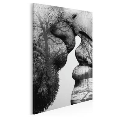 Antologia namiętności - nowoczesny obraz na płótnie - w pionie