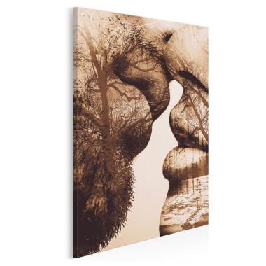 Antologia intymności - nowoczesny obraz na płótnie - w pionie