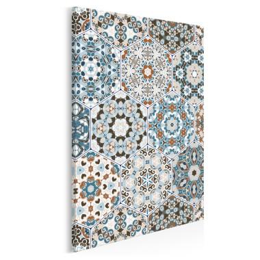 Perły Maroka - nowoczesny obraz na płótnie - w pionie