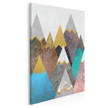 Lukrowe wierchy - nowoczesny obraz na płótnie - w pionie
