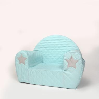 Miękkie i wygodne siedzisko dla dzieci od 9 miesięcy. Fotelik wykonany jest z wysokiej jakości pianki, natomiast pokrycie z tkaniny.