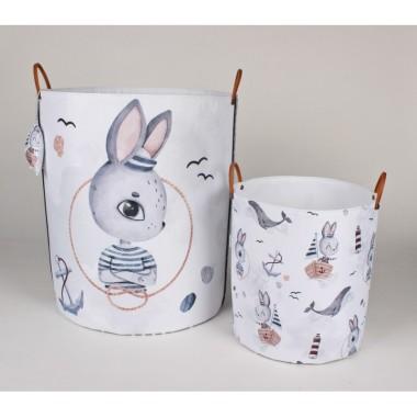 Komplet pojemników z królikiem