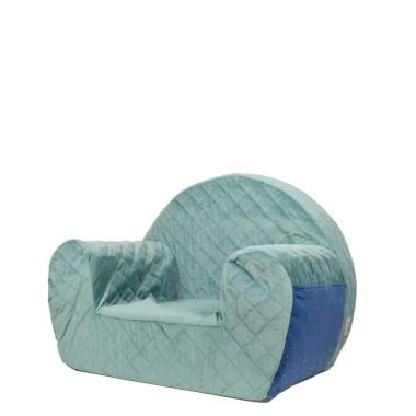 Velvet Green/Blue – fotelik dla dziecka