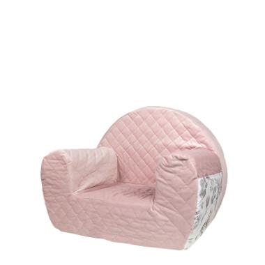 Velvet Pink/Flowers/BW – fotelik dla dziecka
