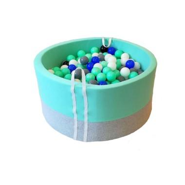 Suchy basen z kulkami – Melanż z miętą