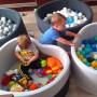 Suchy basen z kulkami do zabawy dla dzieci