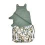 Amazonia_Śpiworek dla niemowlaka wykonany z najwyższej jakości bawełnianej tkaniny
