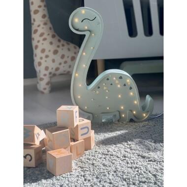 Lampa kinkiet na ścianę diplodok dinozaur dla dziecka do pokoju