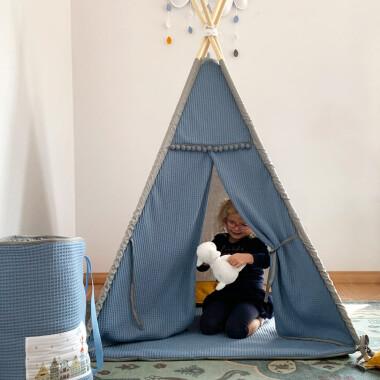 Amsterdam – tipi, namiot dla dzieci z matą podłogową