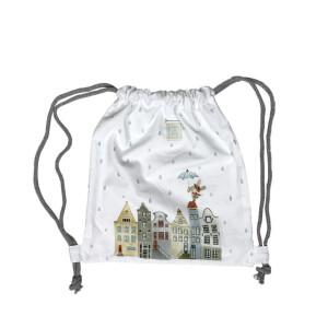 Amsterdam – bawełniany worek/plecak dla przedszkolaka